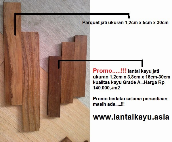 lantai kayu jati harga murah