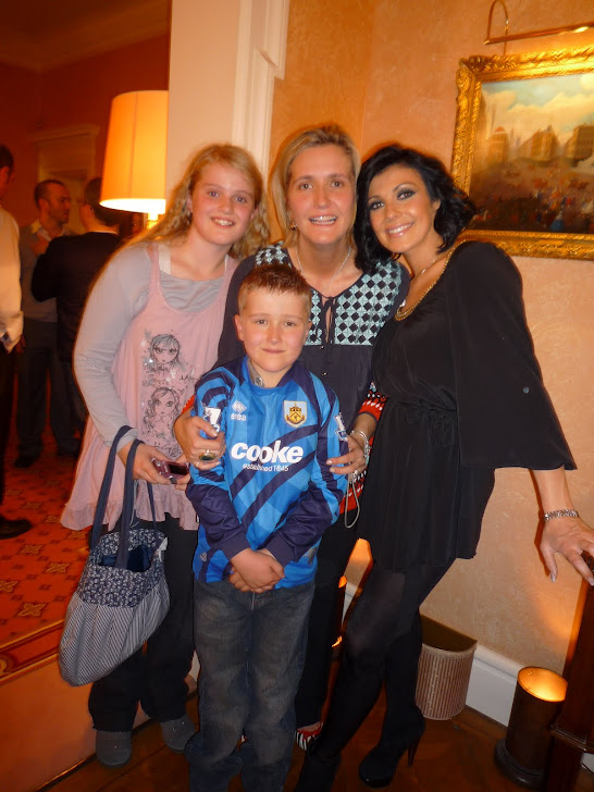 me with the fam & Kym Marsh