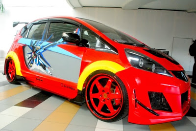modifikasi honda jazz 2014