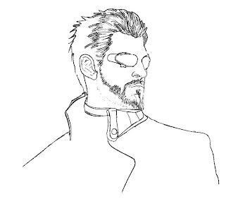 #1 Deus Ex Coloring Page