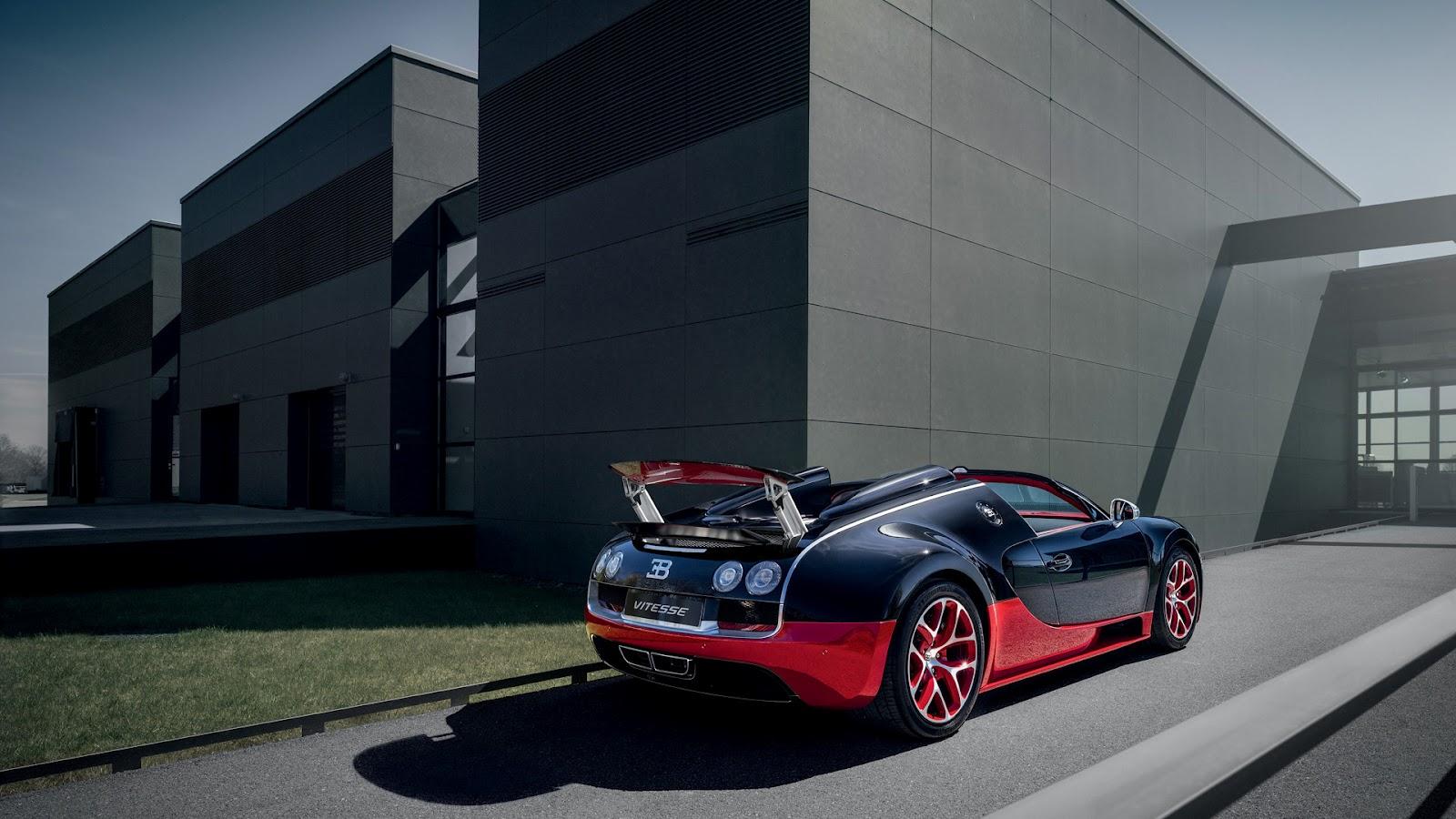 2012 bugatti veyron grand sport vitesse black red 8 0 w16 quad turbo 12. Black Bedroom Furniture Sets. Home Design Ideas