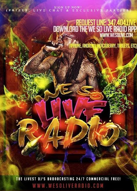 We So Live Radio App