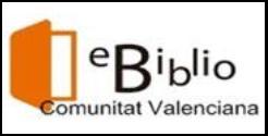 Préstec de llibres electrònics eBiblio Comunitat Valenciana