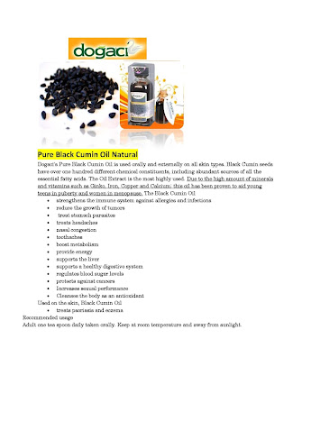 Dogaci Black Cumin Oil