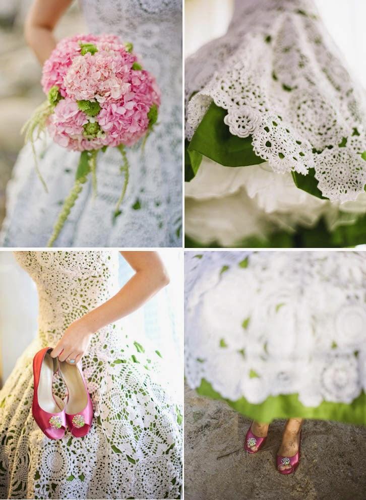 El ganchillo y las bodas manualidades para tu boda - Manualidades para una boda ...