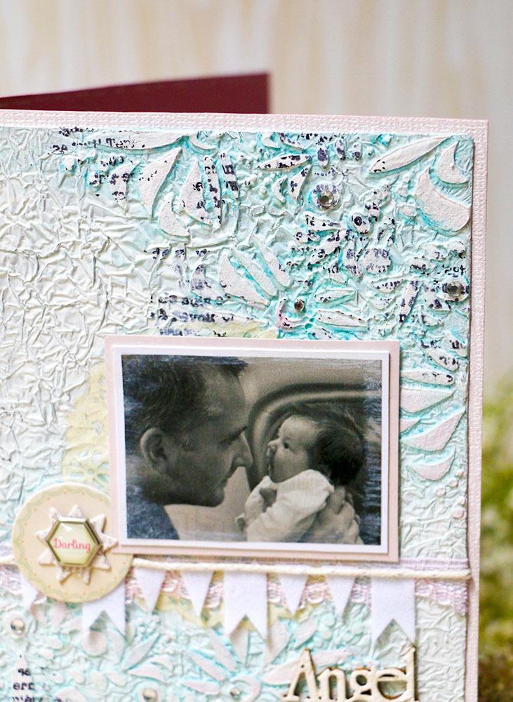 """Поздравительная открытка """"Мой малыш"""". Мила Валентова."""