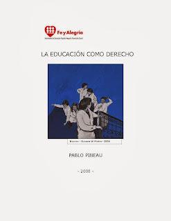 EL DERECHO A LA EDUCACION-PINEAU