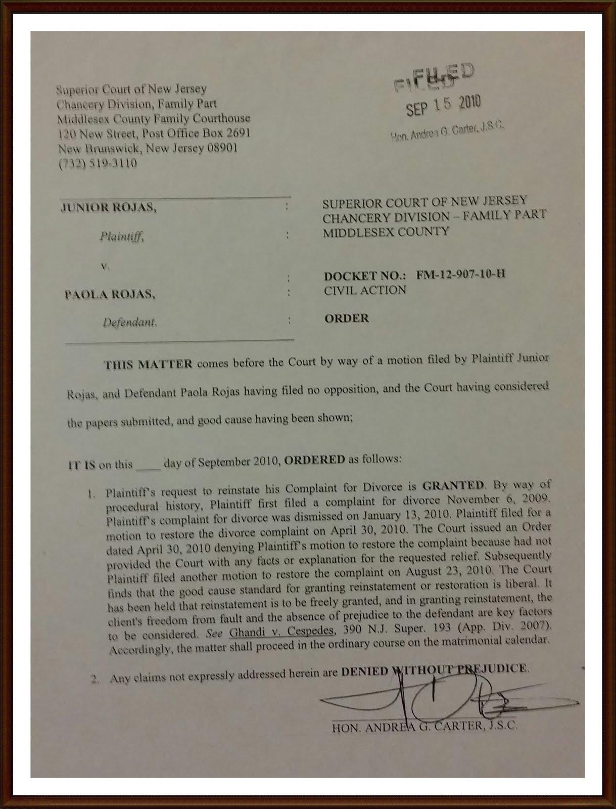JUSTICE ROJAS FACE BOOK  PAGINA OFICIAL