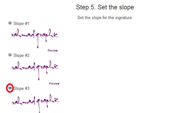 Cara Buat Signature