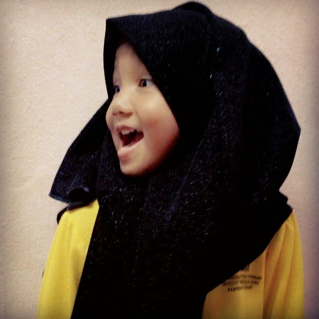my little baby, Qaseh...