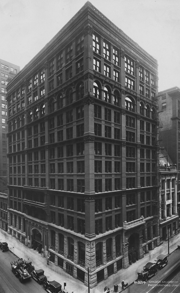 Picture of the Home Insurance Building, Chicago