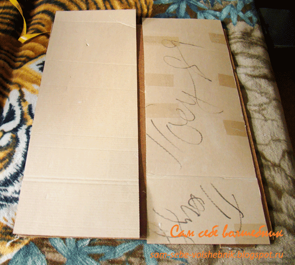 Делаем винтажный гладильный комод из старой гладильной доски