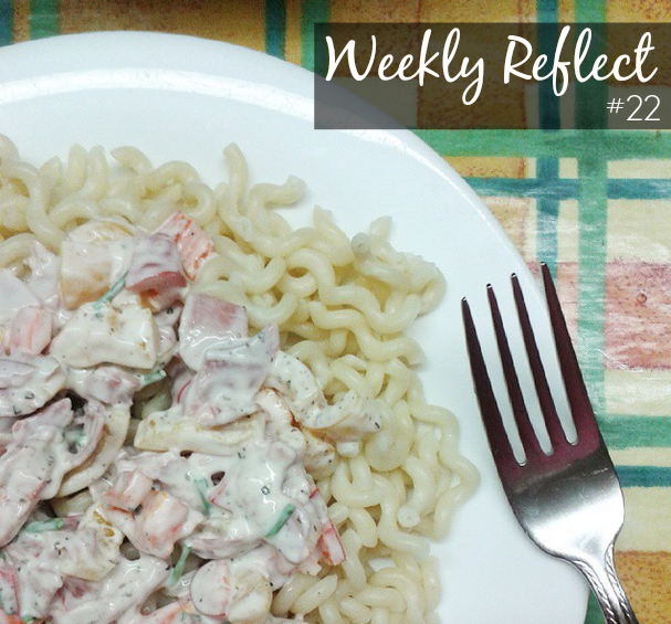 lifestyle blog weekly reflect