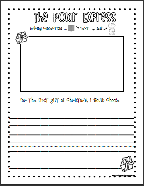 The First Gift of Christmas Student Writing