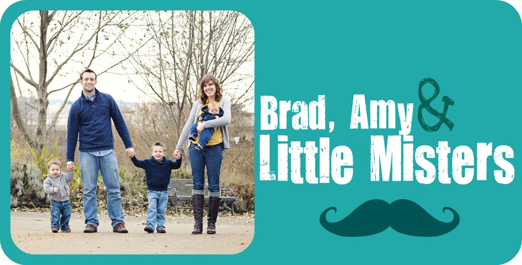 Brad, Amy and Little Misters