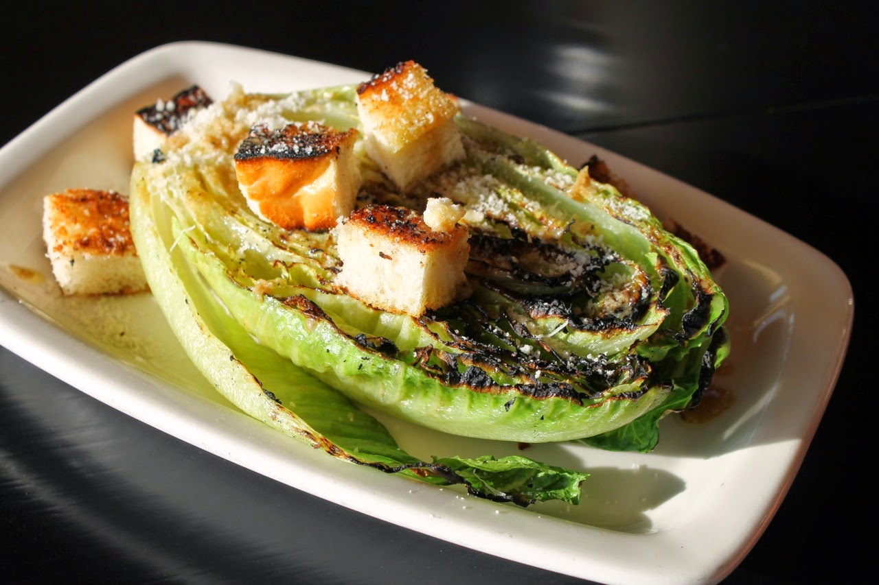Cook In / Dine Out: Grilled Caesar Salad