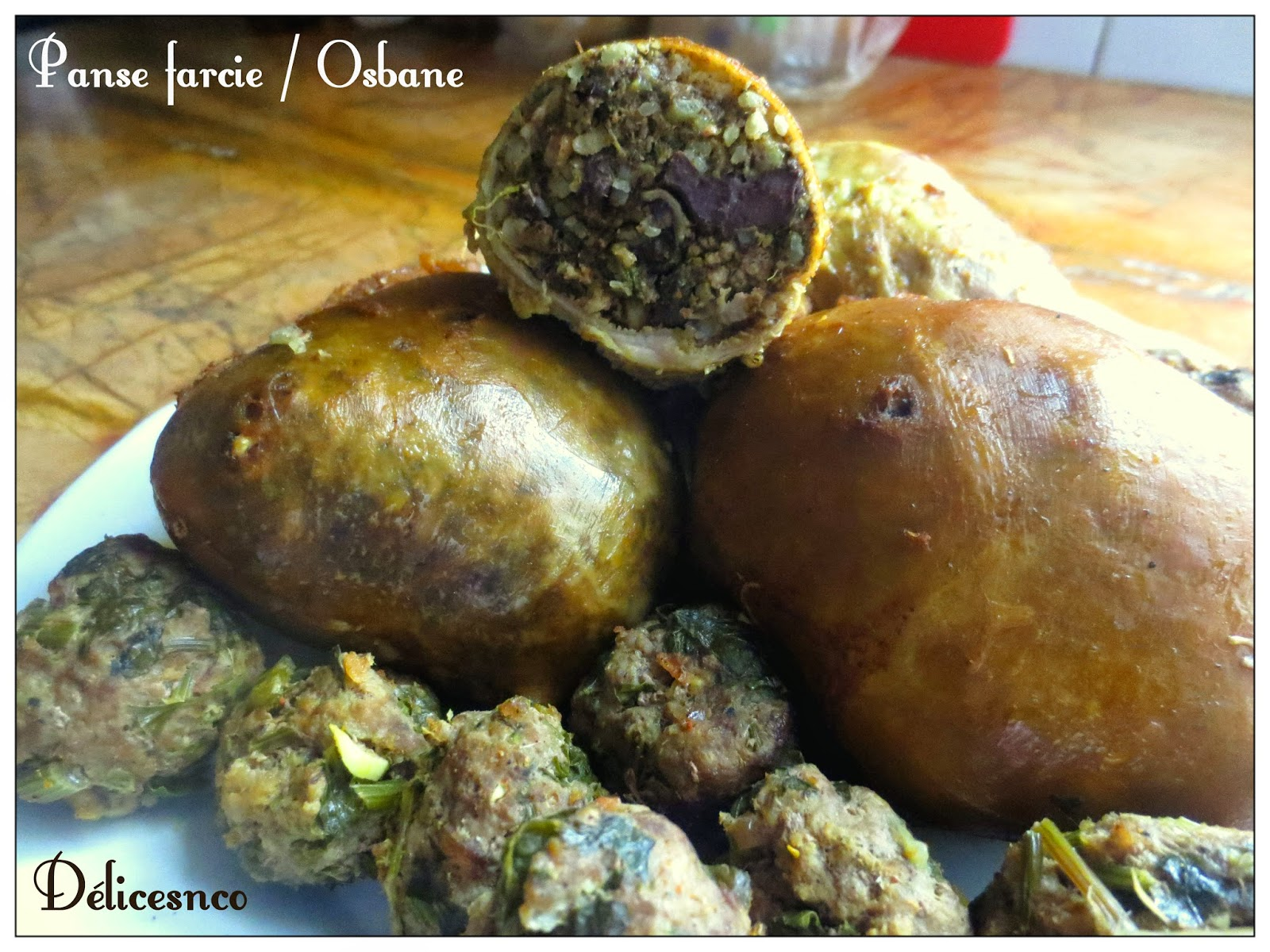 D lices and co osbane bakbouka douara panse farcie for Aide de cuisine