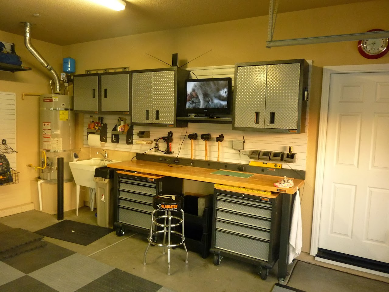 3 Years Later More Gearwall Installation  MATT s GARAGE BLOG. Husky Garage Storage Reviews