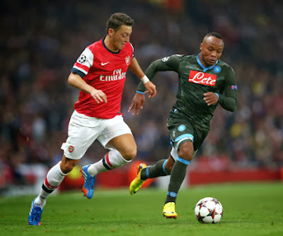 Video Arsenal Vs Napoli 2-0 Hasil Liga Champions 2 Oktober 2013