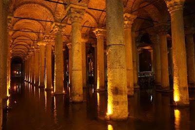 Cisterna Basílica de Estambul