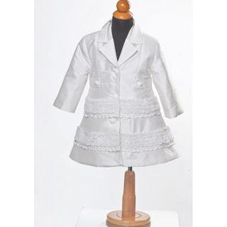 palto gia vaptisi koritsiou leuko