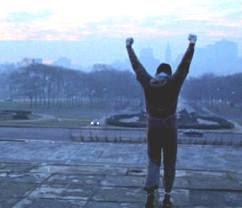 Rocky nunca dejes de pelear