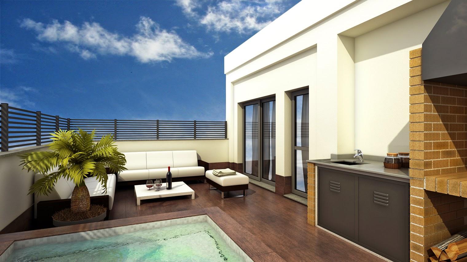 Qubic 10 ideas para una terraza de ensue o for Pisos para terrazas minimalistas