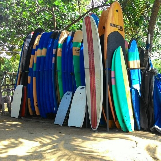 Surfboard at Kuta Beach