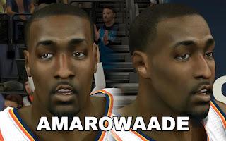 NBA 2K13 Mods - OKC Kendrick Perkins Cyberface Mod