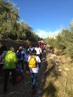 Inicio del Camino Rural. Fotografía de José Mª García