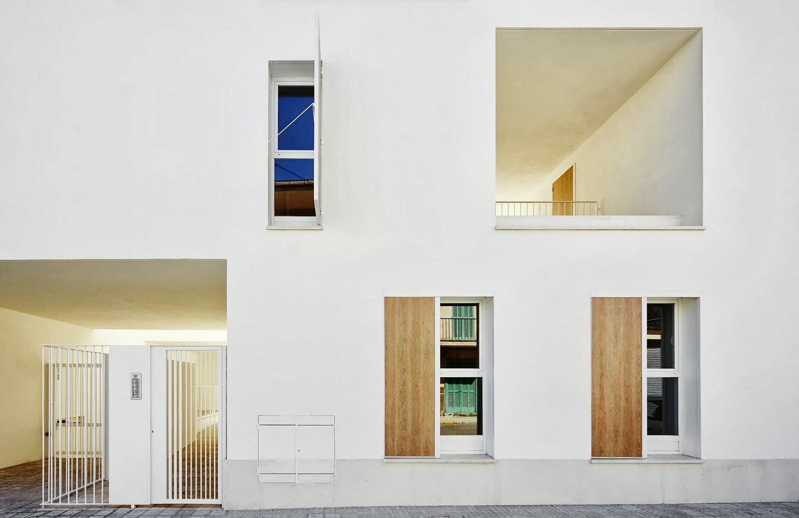 Arquitectura zona cero jugando con los l mites 19 - Estudio arquitectura mallorca ...