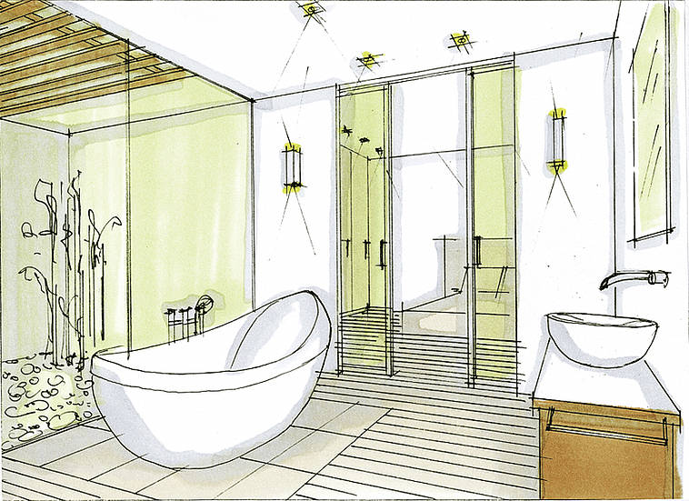 David Dangerous Bathroom Designs
