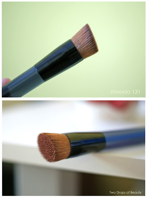shiseido Foundation brush 131, кисть для основы