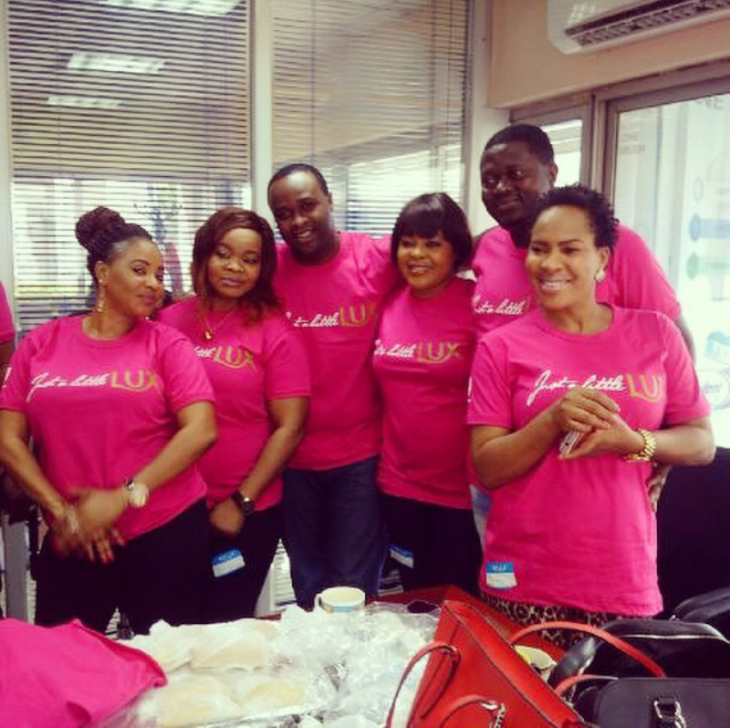 [Photos] Fathia Balogun, Femi Adebayo Others Confirm Lux Ambassadorial Deal
