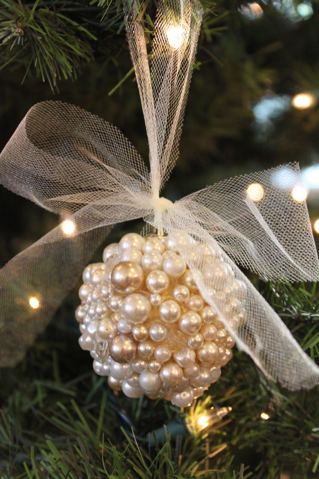 Do It Yourself Divas Diy Pearl Ornament