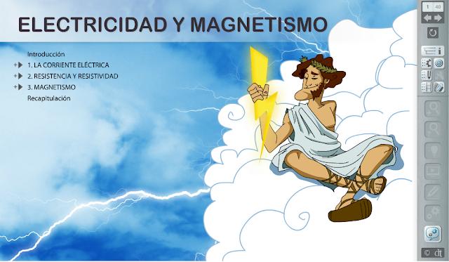 Electricidad y magnetismo. libro digital