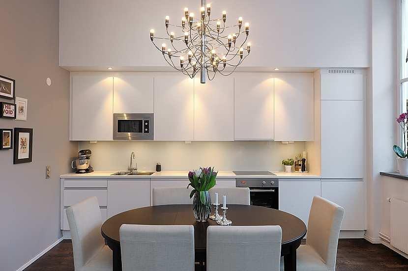 Boiserie c loft 64 mq di idee - Cucina e soggiorno in 30 mq ...