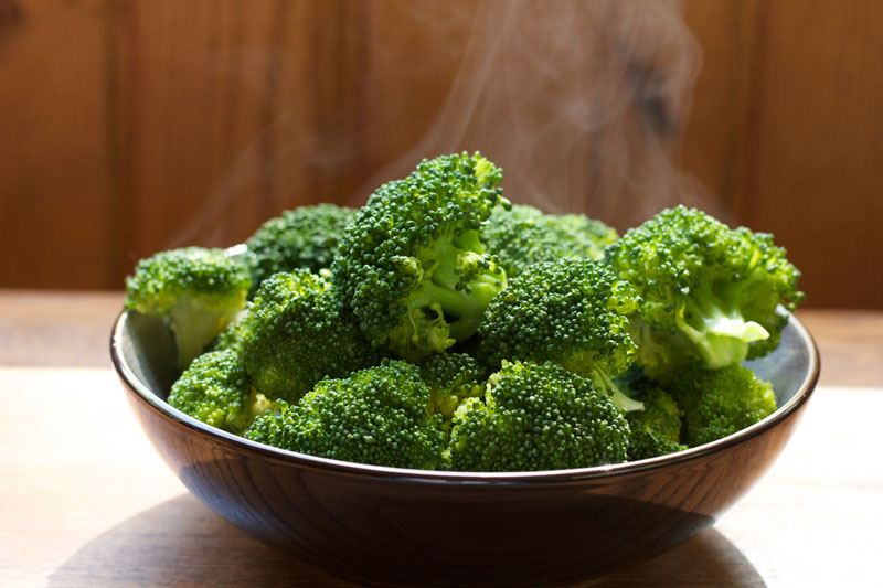 Perfectly steamed broccoli || A Less Processed Life