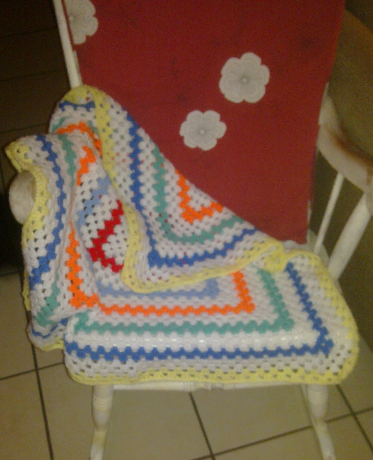 Crochet Quick Projects : Finished the blanket for Kirstie last weekend, picked it up on ...