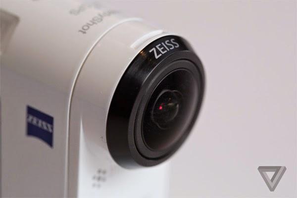 Sony Action Cam 4K X1000V Zeiss Lens