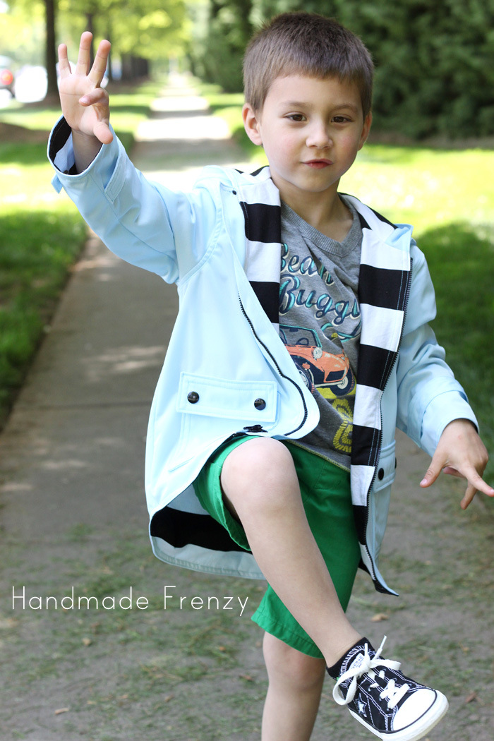 Spring Showers Jacket Pattern Tour & Tips On Sewing With PUL