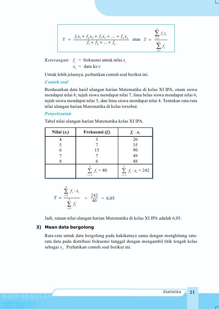 Rangkuman Matematika Sd Pdgk 4406 Modul 1 9