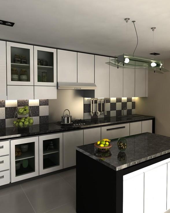 Home design kitchen set minimalis collection for Design kitchen set minimalis
