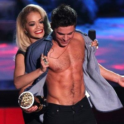 zac efron six pack mtv