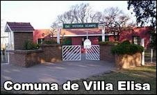 LA COMUNA DE VILLA ELISA AUSPICIA LA VIDRIERA DE LEONES