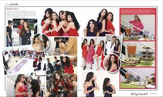 Scans de la revista caras con las 10 mas guapas de la television