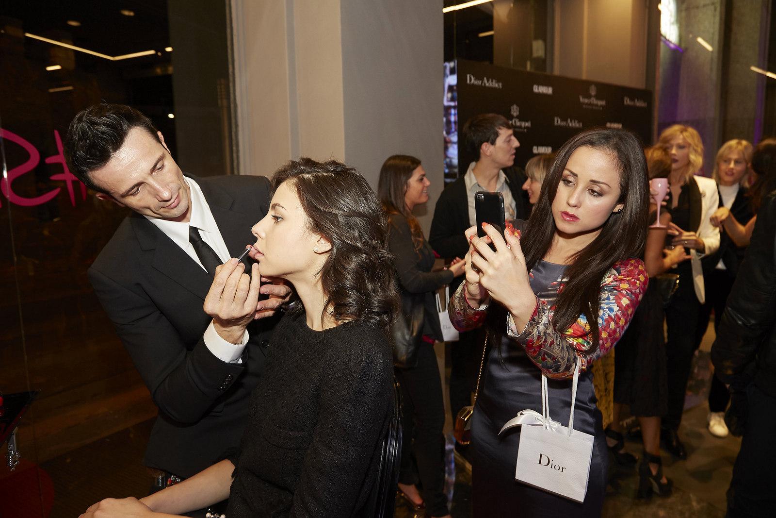 Jessica Neumann , Juliane Borges , Dior Addict , #dressyourtalent , Milan , beauty , dior