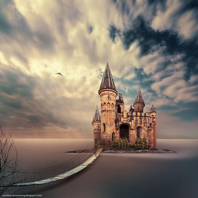 Ảnh đẹp thế giới cổ tích giàu tính tưởng tượng