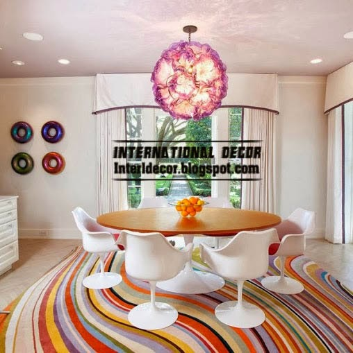 contemporary rugs, contemporary wave rug, colorful rugs
