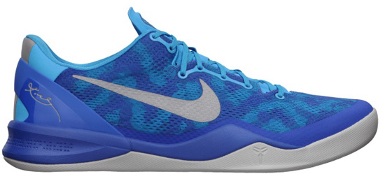 Hitting stores on Saturday, February 23rd, 2013 is the newest colorway of the Nike Kobe 8. Known as the \u0026quot;Blue Coral Snake\u0026quot; edition, this Nike Kobe 8 System ...